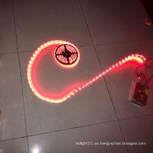 Luz de tira de neón flexible llevada impermeable del alto lumen