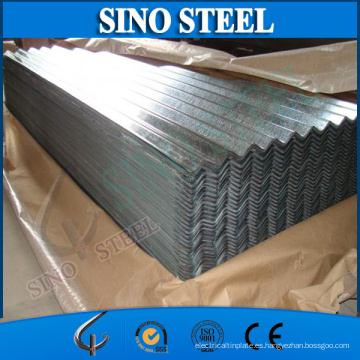 Sgch Full Hard Galvanized Corrugated Roofing Sheet para la construcción