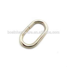 Art- und Weisequalitäts-Metall-ovale Ring-Gürtelschnalle