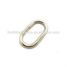 Fashion High Quality Metal Oval Ring Belt Buckle