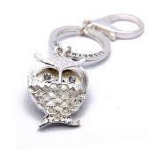 OEM Zinc Alloy Custom Metal Keychain Owl Metal Key Ring