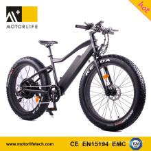 MOTORLIFE / fábrica de la marca del OEM produjo la bicicleta gorda eléctrica nueva de 2017 48v 1000w chino