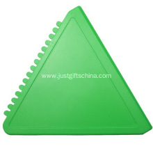 Promotional Triangle Car Ice Scraper at JUSTgifts