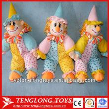 Смешная плюшевая плюшевая игрушечная клоунская кукла