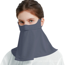 Anti UV Ice Silk Breathable Upf 50+ Protective Face Cover