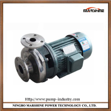 Horizontal strong corrosion resistant stainless steel acid base liquid pump