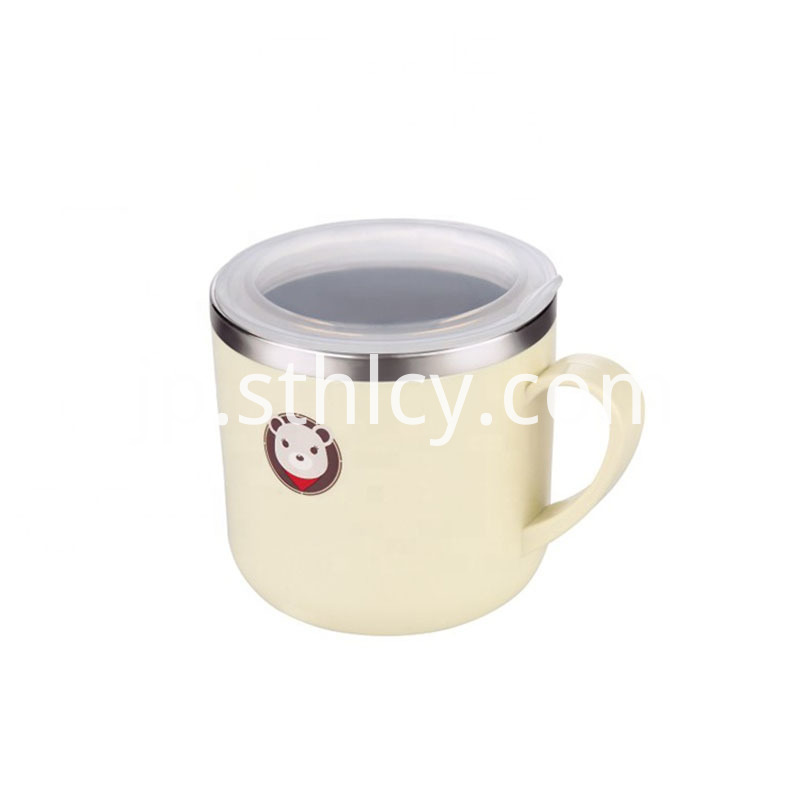 Child Drinking Mugs With Handle