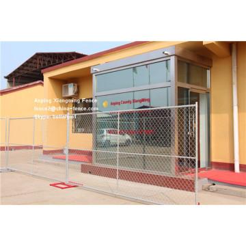6X10FT Us Standard Clôture temporaire de la clôture avec barre transversale