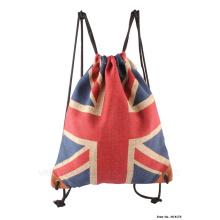 2015 Amerikanischer Frauen-Segeltuch-Rucksack