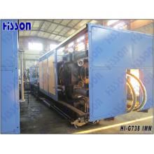 738tons Machine de moulage par Injection hydraulique