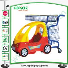 Centro comercial Niños Empuje carrito con coche para bebés