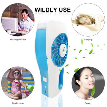 USB Rechargeable Battery Mini Cooling Fan with Clip