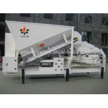 Planta mezcladora de hormigón móvil, planta mezcladora de hormigón