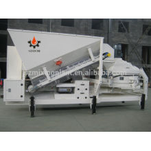 mobile concrete mixing plant batching plant, concrete mixer plant