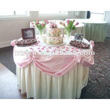 Tablecloth,100%polyester/visa toalha de mesa, tampa de mesa de festa, toalhas de mesa