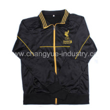 2014 newest wholesale winter soccer jacket for men