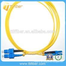 Optisches Faserkabel G652d SM SC / UPC-LC / UPC Patchkabel
