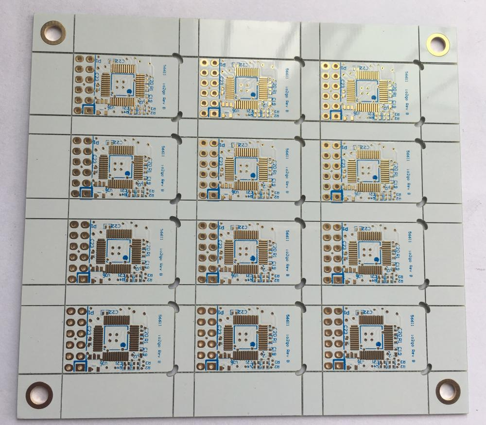 4 layer FR4 0.6mm White Solder EING PCB