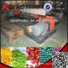 K120-120 Linha de reciclagem de plástico reciclado de dois furos com um único parafuso