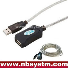 USB 2.0 Active Extension Repeater Cable Cable de 5 metros