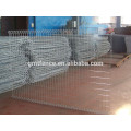 GM high quality powder coated double loop wire mesh metal garden fence from Anping Manufacture