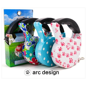 Dog lead Retractable Pet Traction Rope Chain Harness