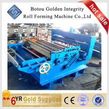 Automatic flattening and slitting machine used in machinery