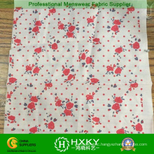 Printed Flower Fabric for Ladies Dress and Garments