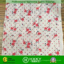 Цветок печатных ткани для дамы одежды