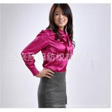 155Cm Thick Stretch Light Satin Satin Lining Fabric