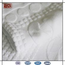 Approvisionnement en blanc blanc 16 po épais 22x44 Personnaliser le logo Serviettes de bain
