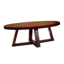 2016 Oval Coffee Table Hotel Furniture