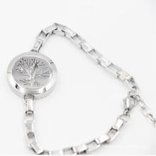 L'arbre de vie Aimant ouvert Oild diffuseur médaillon pour bracelet