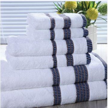 Ensembles de serviettes en coton personnalisés pour serviettes d'hôtel