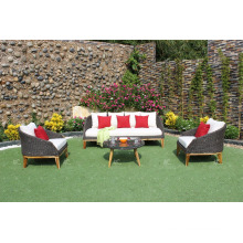 Best selling Modern design Synthetic rattan Couch set for Outdoor garden Furniture
