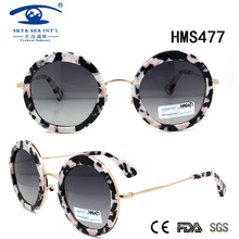 2016 New High Quality Acetate Sunglasses (HMS477)