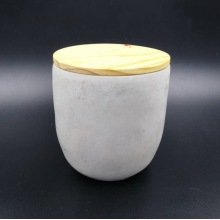 Long Burning outdoor Cement Container Candle