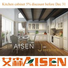 Josephine Modern PVC branco armário de cozinha design de cozinha de luxo