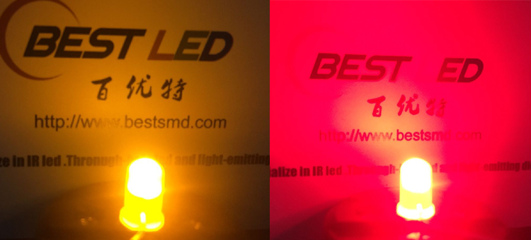 RED AND YELLOW LED