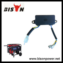 Bison China Best Sale 2kw Good Quality Square Gasoline Generator AVR