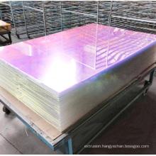 1 mm 4*8 feet iredescent rainbow acrylic sheet for display