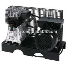 Италия тип 2065 панельный воздушный компрессор 3HP 8bar 2.2KW электродвигатель однофазный
