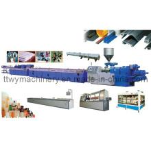 Plastic PVC Windows Profile Extrusion Machinery