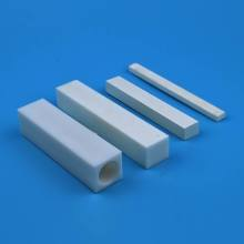 High Flexural Strength Alumina Square Ceramic Tube