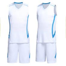 2017 new design basketball uniform factory price basktball jersey for man