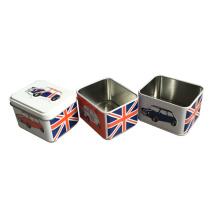 Drei Schichten Metall Lebensmittel Box für Candy Packaging