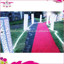 Großhandelsneue Entwurf WPC Hochzeits-Dekoration gebildet von Sinofur