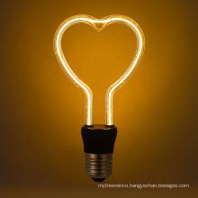 Modern Led Festival Lights Bulb 4W Warm White Flexible Soft Led Filament Bulb