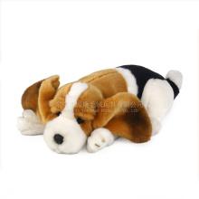 Guangdong ICTI proveedor peluche perro juguetes a granel y juguetes baratos para perros con squeakers