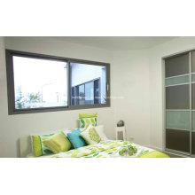 Sala de estar residencial Janelas de alumínio deslizantes
